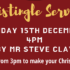 Christingle Service – Sunday 15th December