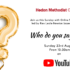Online Sunday Worship 'Who do you say I am?' – 23rd August 2020