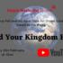 Online Sunday Worship 'Build Your Kingdom Here' – 21st February 2021